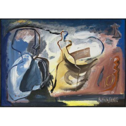 Pintura del siglo XX.  Xulio Maside (Vigo, 1933).