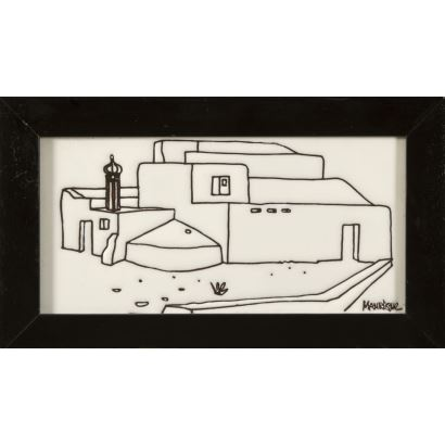 MANRIQUE CABRERA, César (Arrecife, 1919-Teguise, 1992)