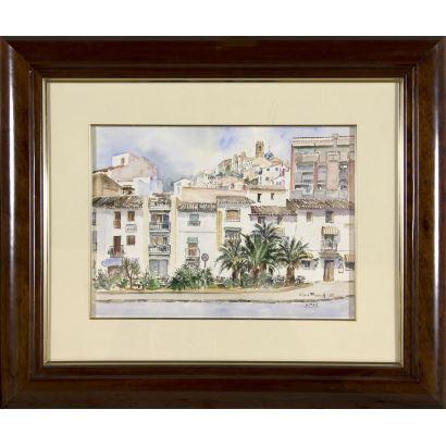 Rossend Franch Cubells (Palma de Ebro, Tarragona, 1934).
