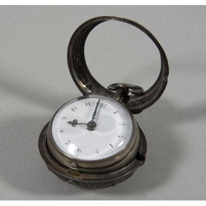 Reloj de bolsillo, S. XVIII.