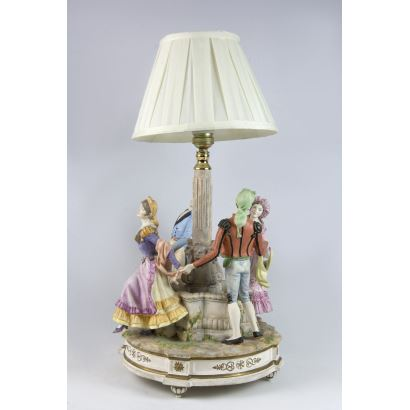 Lámpara de sobremesa, S. XX.