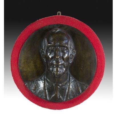 Medalla en bronce, S. XX.
