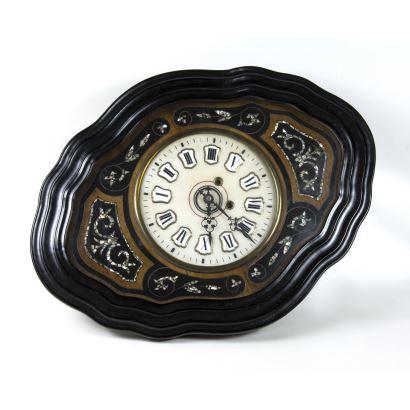 Reloj ojo de buey isabelino, S. XIX.