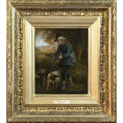 ANTHONY SERRES (Francia, 1828-1898).