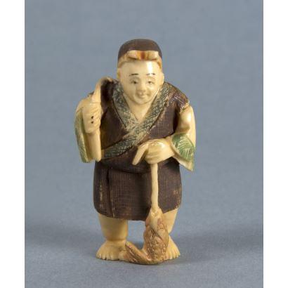Netsuke, fin S. XIX -ppios. S. XX.