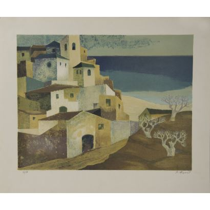 Obra Gráfica. RAMON LLOVET (BARCELONA 1917-1987).