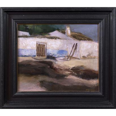 Pintura del siglo XX. ANTONIO ARNAU MAGRO (Quintanar de la Orden, 1932- Villacañas, 2011).