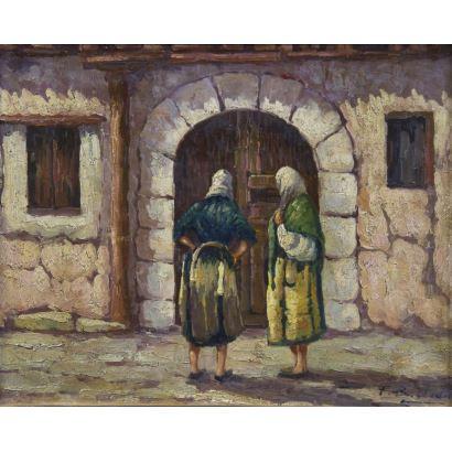 Pintura del siglo XX. BASTIDA (Escuela Española, S. XX)