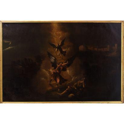 Pintura de Alta Época. MATEO OROZCO (Activo entre 1634-1652).