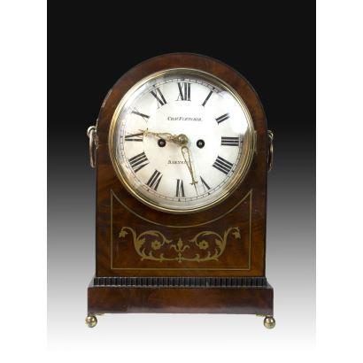Relojes. Reloj de sobremesa inglés, S. XIX.