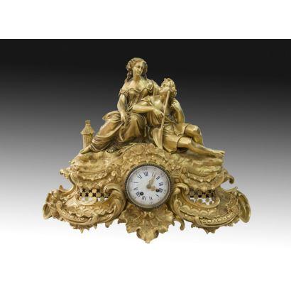 Table clock, S. XIX.
