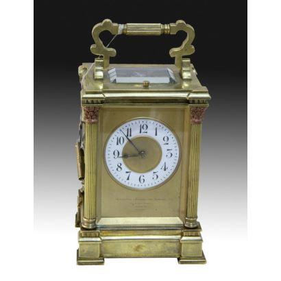 Relojes. Reloj de cabecera, S. XIX.
