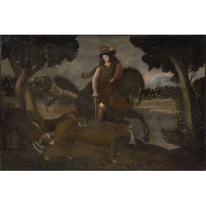 Pintura de Alta Época. Escuela hispanoamericana, S. XVII.