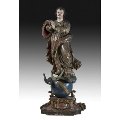 Sculpture. Spanish School, 17th century.
