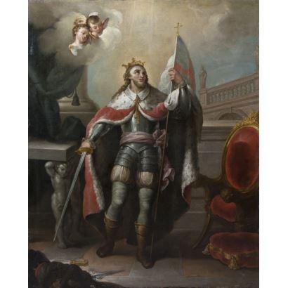 Pintura de Alta Época. Seguidor de Mariano Salvador MAELLA (Valencia, 1739 - Madrid, 1819).