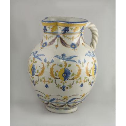 Cerámica. Jarro en cerámica de Ruiz de Luna.