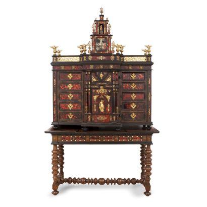 Muebles. BARGUEÑO NAPOLITANO, S. XVII.