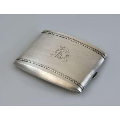 Spanish silver cigarette case, S. XX.