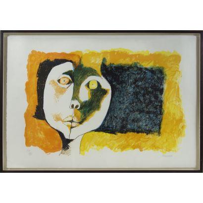 Obra Gráfica. Oswaldo Guayasamín (Quito, 1919 - Baltimore, 1999).