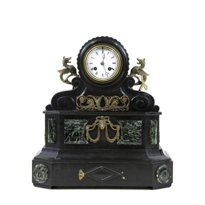 Reloj de sobremesa, Napoleón III, S. XIX.