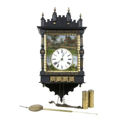 Reloj de pared, S. XIX.