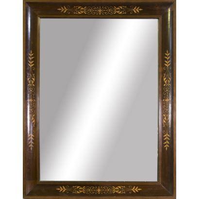 Espejos y marcos. Espejo, S. XIX.