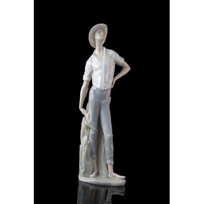 Porcelana. Figura en porcelana de Lladró.
