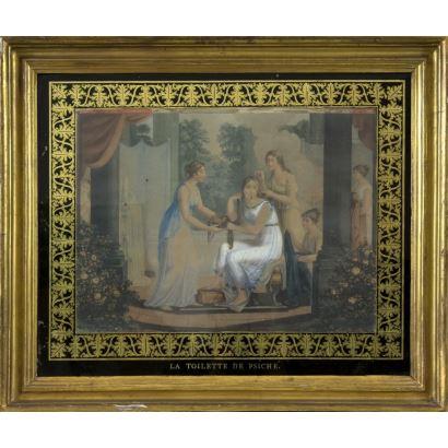 Obra Gráfica. Escuela Francesa, siglo XIX.