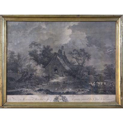 Obra Gráfica. Taller de Louis-Joseph Masquelier (Cysoing, 1741- París, 1811).