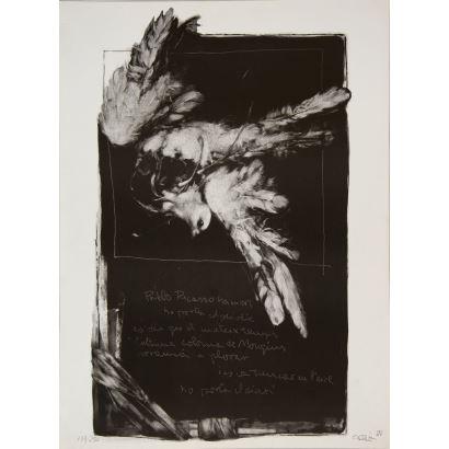 Obra Gráfica. Joan Ramón García Castejón, Joan Castejón (Elche, 1945).