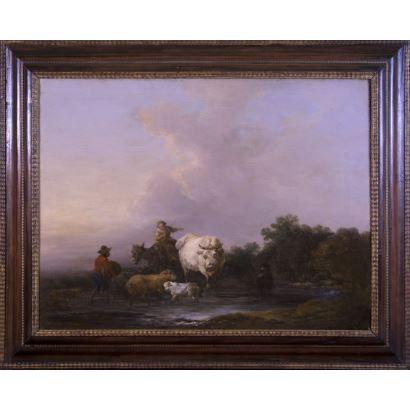 Pintura del siglo XIX. Escuela europea, S. XIX.