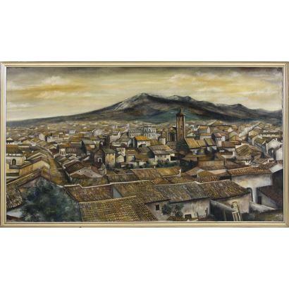 Pintura del siglo XX. RAFAEL TORIBIO (Andujar, S. XX).