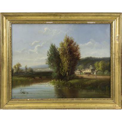 A. RUEFF (Escuela francesa, S. XIX).