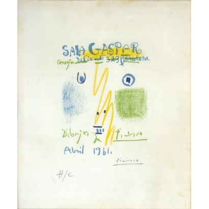 Pablo Ruiz Picasso (Málaga, 1881 – Mougins, 1973).