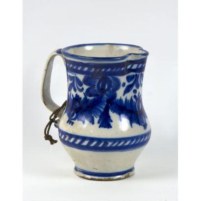 Jarro en cerámica, S. XIX.