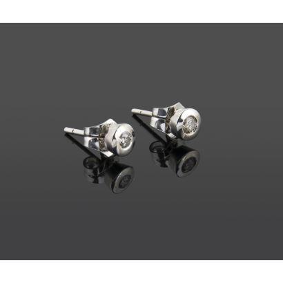 Sleeper earrings.