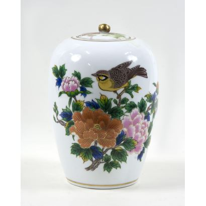 Tibor en cerámica, S. XX.