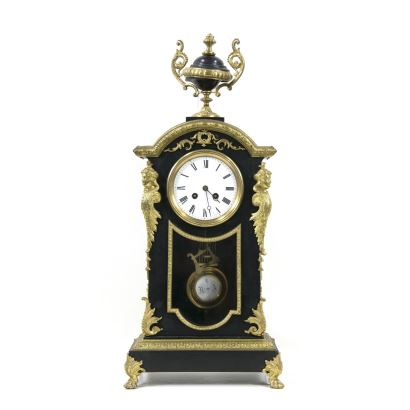 Desk clock, end. S. XIX- ppios. S. XX.