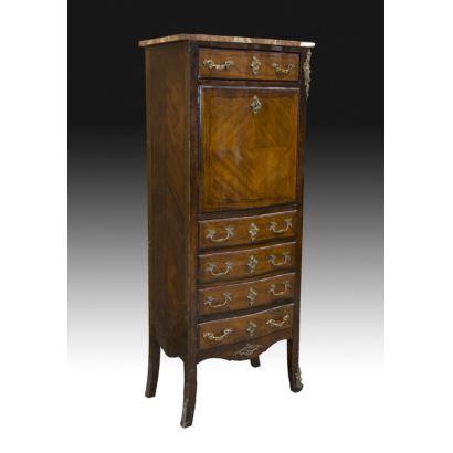 Bar cabinet a abattant, S. XIX