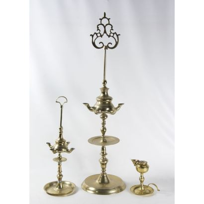 Set consisting of two candles and a candle, S. XIX.