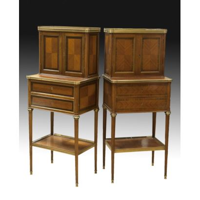 French style furniture couple, pps. XX.