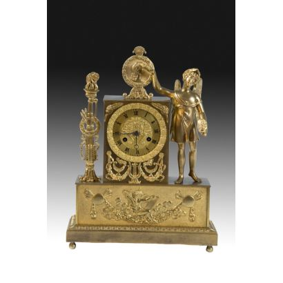 Table clock, Carlos X style.