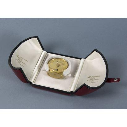 Reloj despertador de viaje Jaeger Le Couture.