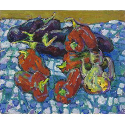 Pintura del siglo XX. TERESA LLÁCER PELLICER (Montroig-M Mar, 1932)