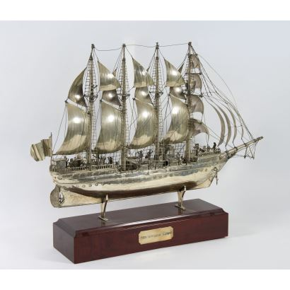 Silver boat, S. XX.
