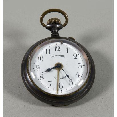 Pocket watch with alarm clock.