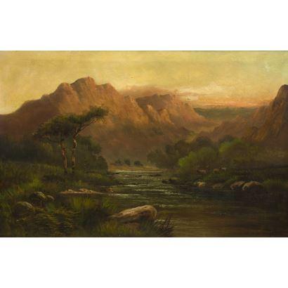 Pintura del siglo XIX. Escuela escocesa, fin S. XIX- ppios. S. XX.