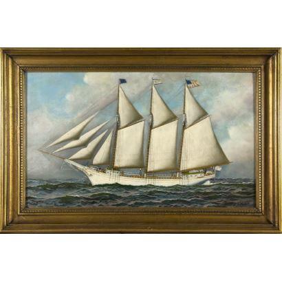 Pintura del siglo XX. Antonio Nicolo Gasparo Jacobsen (Copenhagen 1850-1921 Hoboken, New Jersey).