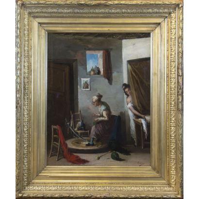 Pintura del siglo XIX. Escuela Andaluza, siglo XIX.