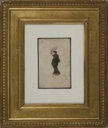 RICARDO OPISSO I SALA.  1880-1966. Dibujo
